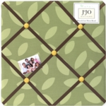 Sweet JoJo Designs Jungle Time Fabric Memo Board