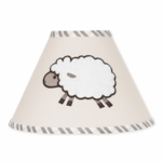 Sweet JoJo Designs Lamb Lamp Shade