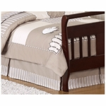 Sweet JoJo Designs Lamb Toddler Bed Skirt