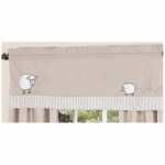 Sweet JoJo Designs Lamb Window Valance