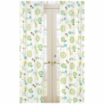 Sweet JoJo Designs Layla Floral Print Window Panels
