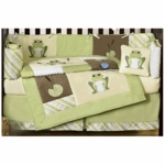 Sweet JoJo Designs Leap Frog 9 Piece Crib Bedding Set