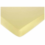 Sweet JoJo Designs Leap Frog Crib Sheet in Solid Yellow