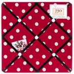 Sweet JoJo Designs Little Ladybug Fabric Memo Board