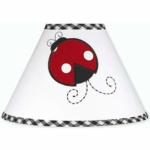 Sweet JoJo Designs Little Ladybug Lamp Shade