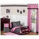 Sweet JoJo Designs Madison 5 Piece Toddler Bedding Set