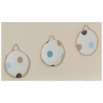 Sweet JoJo Designs Mod Dots Blue Wall Hangings