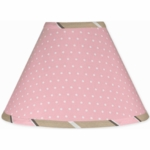 Sweet JoJo Designs Mod Dots Pink Lamp Shade