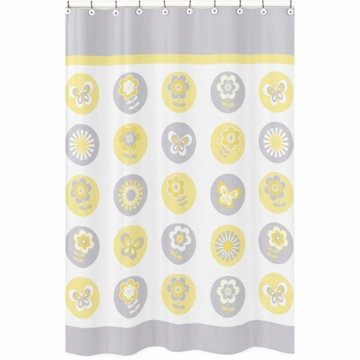 Sweet JoJo Designs Mod Garden Shower Curtain
