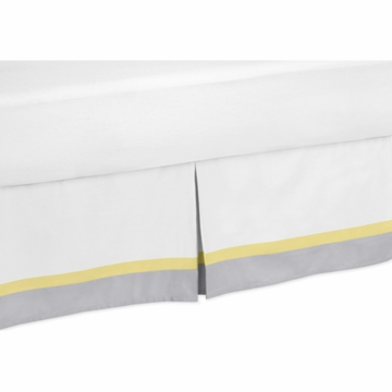 Sweet JoJo Designs Mod Garden Toddler Bed Skirt