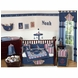 Sweet JoJo Designs Nautical Nights 9 Piece Crib Bedding Set