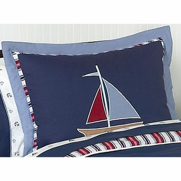 Sweet JoJo Designs Nautical Nights Pillow Sham