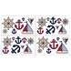Sweet JoJo Designs Nautical Nights Wall Decals