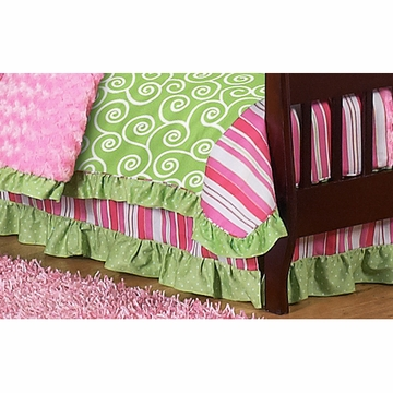 Sweet JoJo Designs Olivia Toddler Bed Skirt