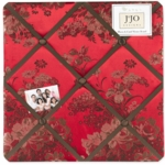 Sweet JoJo Designs Oriental Garden Fabric Memo Board