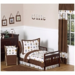 Sweet JoJo Designs Owl 5 Piece Toddler Bedding Set