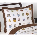Sweet JoJo Designs Owl Pillow Sham