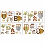 Sweet JoJo Designs Owl Wall Decals