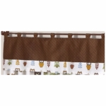 Sweet JoJo Designs Owl Window Valance