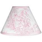 Sweet JoJo Designs Pink Toile Lamp Shade