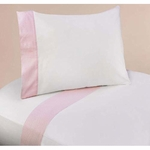 Sweet JoJo Designs Pink Toile Twin Sheet Set