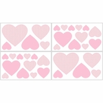 Sweet JoJo Designs Pink Toile Wall Decals