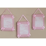 Sweet JoJo Designs Pink Toile Wall Hangings