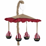 Sweet JoJo Designs Pirate Treasure Cove Musical Mobile
