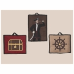 Sweet JoJo Designs Pirate Treasure Cove Wall Hangings