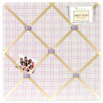 Sweet JoJo Designs Pony Fabric Memo Board