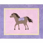 Sweet JoJo Designs Pony Rug