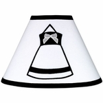 Sweet JoJo Designs Princess Black & White Lamp Shade