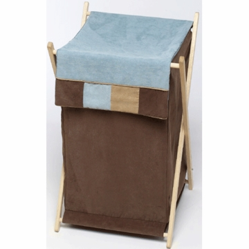 Sweet JoJo Designs Soho Blue & Brown Hamper