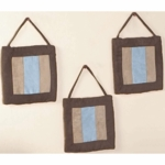 Sweet JoJo Designs Soho Blue & Brown Wall Hangings