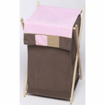 Sweet JoJo Designs Soho Pink & Brown Hamper
