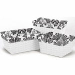 Sweet JoJo Designs Sophia Basket Liners - Set of 3
