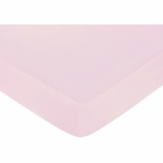 Sweet JoJo Designs Sophia Crib Sheet in Pink