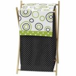 Sweet JoJo Designs Spirodot Lime & Black Hamper