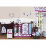 Sweet JoJo Designs Spring Garden 9 Piece Crib Bedding Set