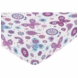 Sweet JoJo Designs Spring Garden Crib Sheet - Butterfly Print