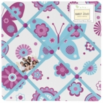 Sweet JoJo Designs Spring Garden Fabric Memo Board