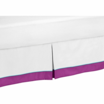 Sweet JoJo Designs Spring Garden Toddler Bed Skirt