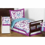 Sweet JoJo Designs Spring Garden Toddler Bedding Set