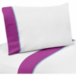 Sweet JoJo Designs Spring Garden Twin Sheet Set