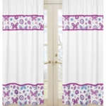 Sweet JoJo Designs Spring Garden Window Panels - Set of 2