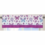 Sweet JoJo Designs Spring Garden Window Valance