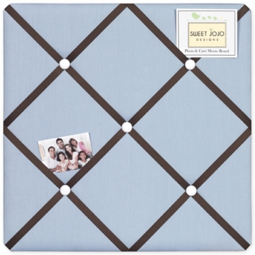 Sweet JoJo Designs Starry Night Fabric Memo Board
