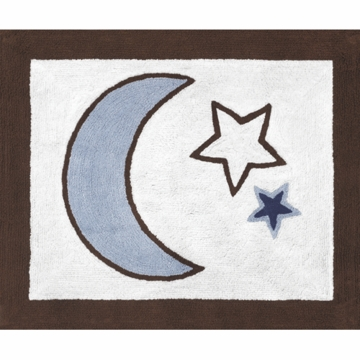 Sweet JoJo Designs Starry Night Rug