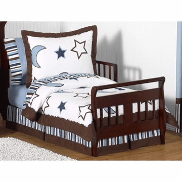 Sweet JoJo Designs Starry Night Toddler Bedding Set