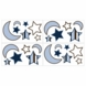 Sweet JoJo Designs Starry Night Wall Decals